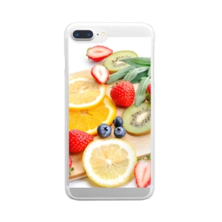 luv.fruit Clear smartphone cases