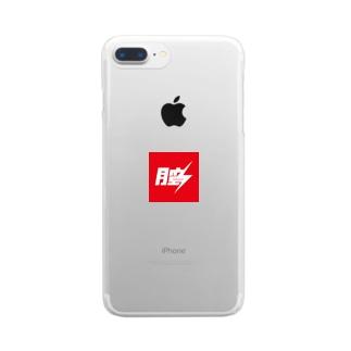 DJ'膣tekina//something Clear smartphone cases