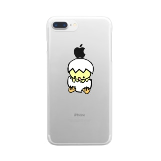 ぴよこ Clear smartphone cases