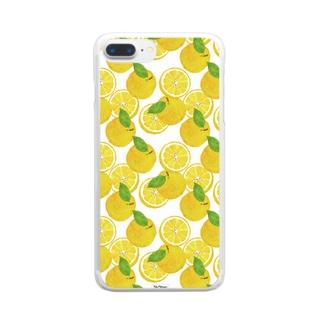 甘夏 Clear smartphone cases