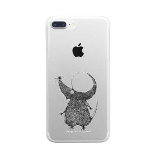 野ねずみ トピラ Clear smartphone cases