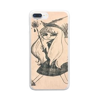まじょっこ ゾーラ Clear smartphone cases