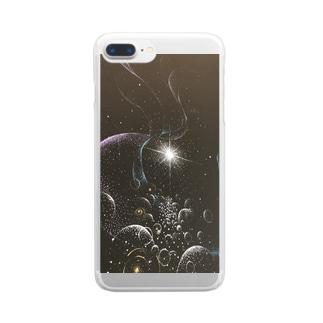 うちゅんぽ Clear smartphone cases