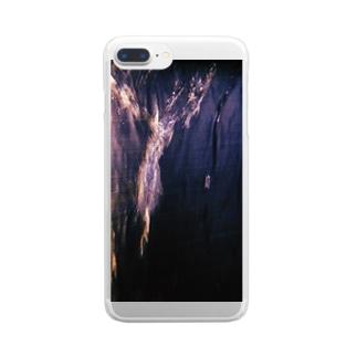 したたる Clear smartphone cases