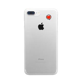 ハートゥー Clear smartphone cases