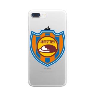 パ紋No.3293 増田テカシ Clear smartphone cases