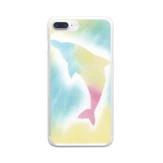 インスピレーションNo.29 Clear smartphone cases