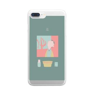 ゆ Clear smartphone cases