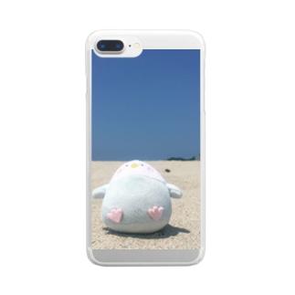 ぺんぺん伯爵 Clear smartphone cases