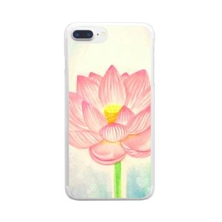 絵描き-國重 奈穂-10 Clear smartphone cases