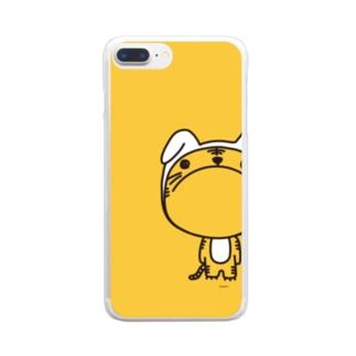 うさとら。 Clear smartphone cases