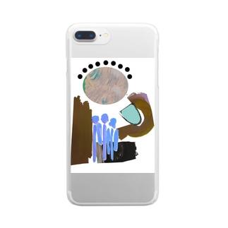 水あげ Clear smartphone cases