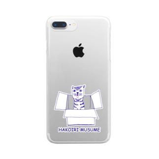 箱入り娘 Clear smartphone cases