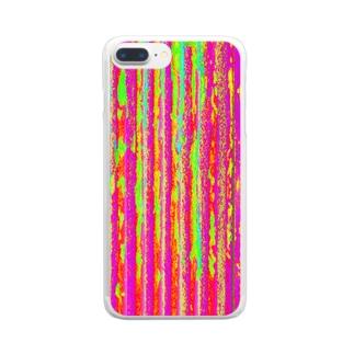 Flexible stripe 01 Clear smartphone cases