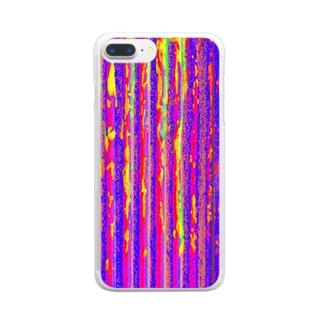 Flexible stripe 02 Clear smartphone cases