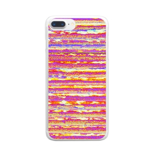 Flexible stripe 07 Clear smartphone cases