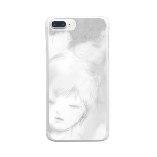 ドントWannaCry Clear smartphone cases