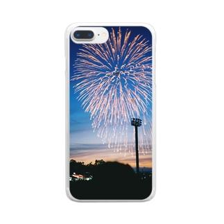 花火 Clear smartphone cases