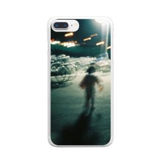 残像 Clear smartphone cases