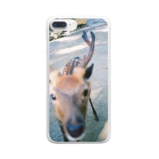 鹿 Clear smartphone cases