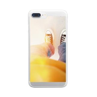感光 Clear smartphone cases