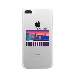 1989〜熱海〜 Clear smartphone cases
