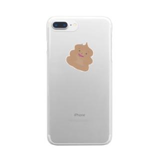 ゆるゆるりチョコソフト Clear smartphone cases