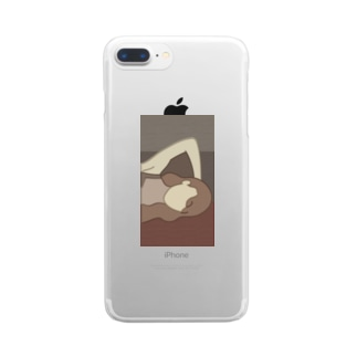 TEHE (brown) Clear smartphone cases