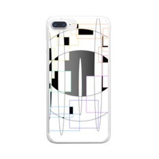 design-001 Clear smartphone cases