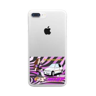 サリ106 Clear smartphone cases