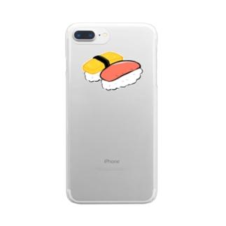 すしphone Clear smartphone cases