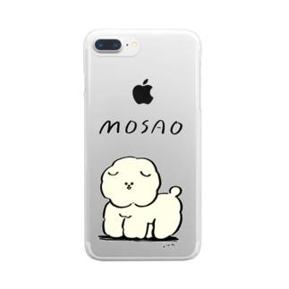 MOSSARIMOSAO クリアスマートフォンケース