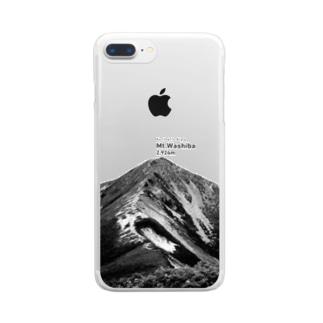 鷲羽岳 Clear smartphone cases
