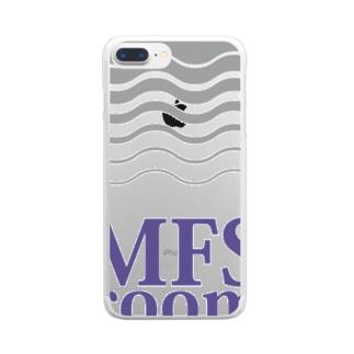MFS room 3周年記念グッズ クリアスマートフォンケース