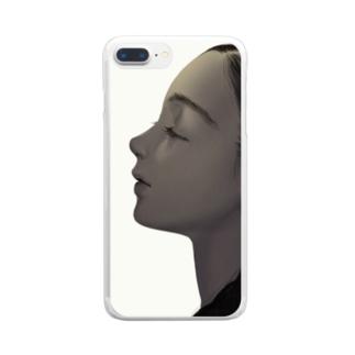 よこがお Clear smartphone cases