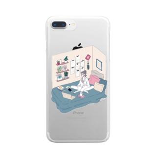 MY ROOM クリアスマートフォンケース
