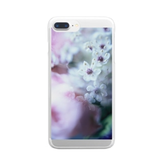 flora Clear smartphone cases