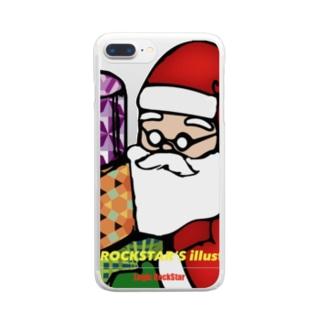 あなたの隣のサンタさん Clear smartphone cases
