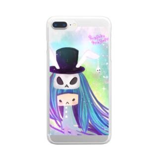 オラクルカード けつい Clear smartphone cases