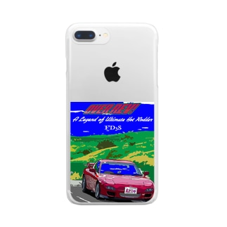 アミ7 Clear smartphone cases