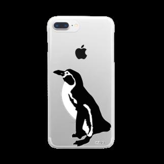 陽向のペンギン  Clear smartphone cases