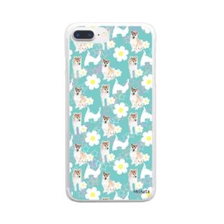 柴犬 Clear smartphone cases