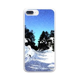 風景002 Clear smartphone cases
