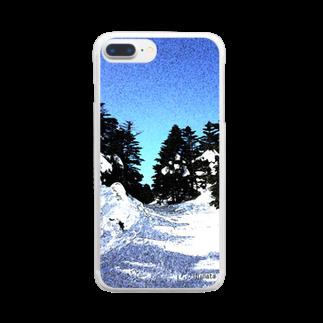 陽向の風景002 Clear smartphone cases