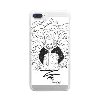 ランプの魔人 Clear smartphone cases
