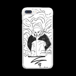 マグダラのヒカル@堕天使垢のランプの魔人 Clear smartphone cases