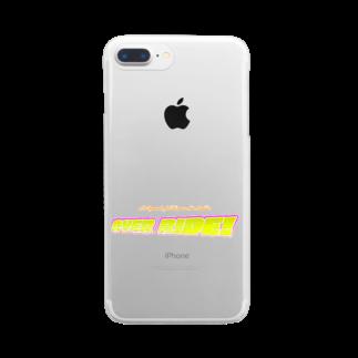 山口かつみのOVER RIDE! Clear smartphone cases