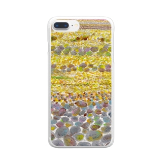地層 Clear smartphone cases