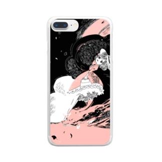 愛の逃避行 Clear smartphone cases