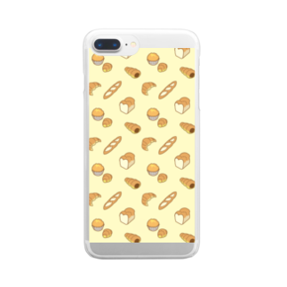 Kanzarkobo 🍫🍌カンツァーのbread bread ブレッドブレッド Clear smartphone cases